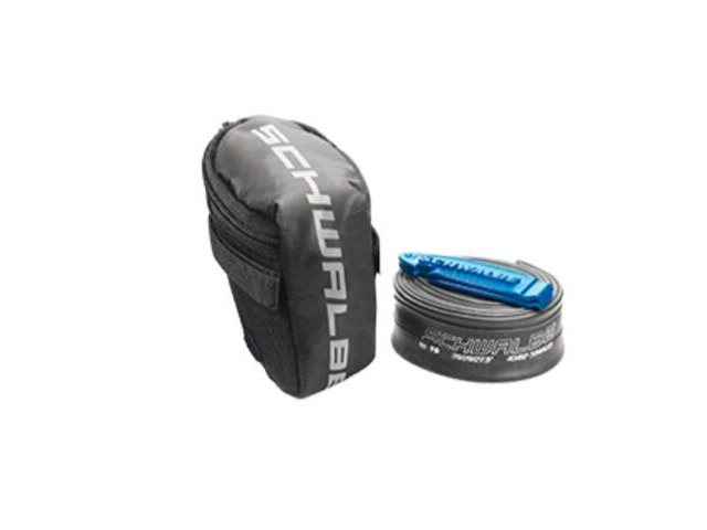 "SCHWALBE Saddle Bag inc tube and tyre levers 26"" click to zoom image"