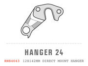 SARACEN Ariel Carbon Direct Mount RH Dropout No 24