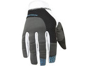 MADISON Flux Glove black / hawaiian blue