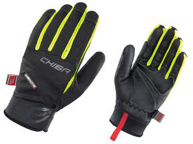 CHIBA GLOVES Tour Plus Windstopper Cycling Glove Blk/Yellow