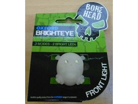 OXFORD Brighteye Bonehead Front LED Cycle light in white