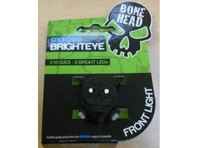 OXFORD Brighteye Bonehead Front LED Cycle light in Black