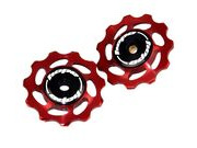 HOPE Jockey Wheels Red 11T