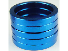 RUSH 5mm Blue Alloy Headset Spacer