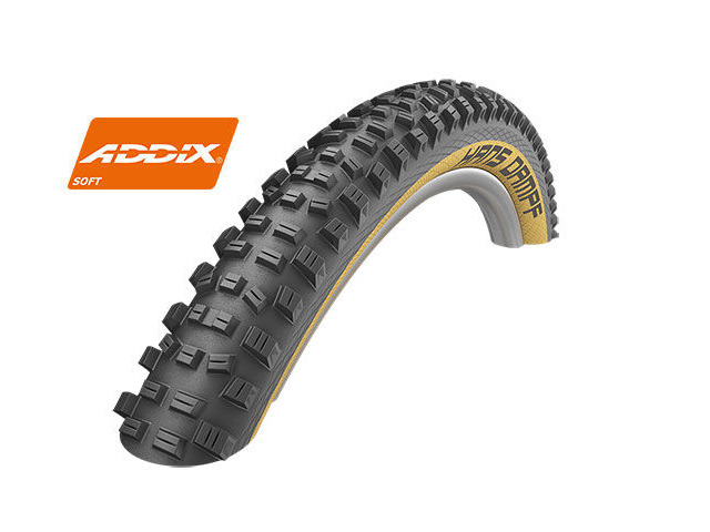 "SCHWALBE Hans Dampf 29"" x 2.35"" Addix Soft Snakeskin (Tanwall) click to zoom image"