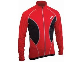 LUSSO Breathe 2 Jersey Red Long sleeve