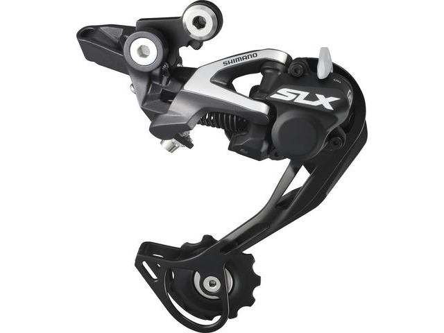 SHIMANO SLX 10spd RD-M675 Clutch Rear Mech Shadow Design click to zoom image