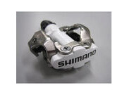SHIMANO M520 MTB SPD pedals - two sided mechanism, white