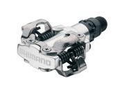 SHIMANO PD-M520 MTB SPD pedals - two sided mechanism, silver