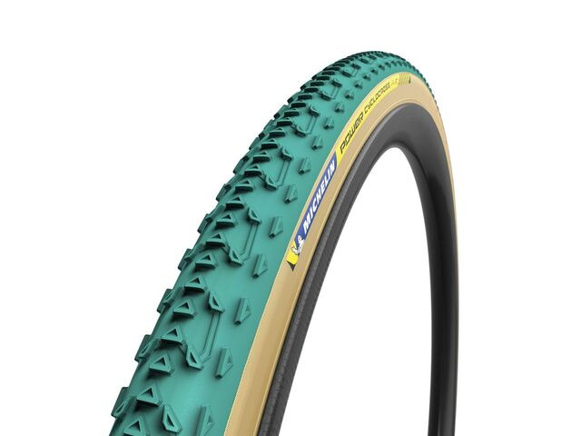 MICHELIN Power Cyclocross Jet Tubular Tyre Green 700 x 33c click to zoom image