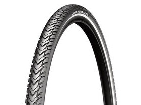 MICHELIN Protek Cross Tyre 700 x 35c Black / Reflective (37-622)
