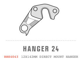 SARACEN Ariel Carbon Direct Mount RH Dropout Hanger No 24