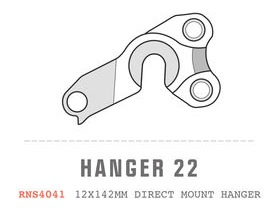 SARACEN Ariel Direct Mount RH Dropout No 22