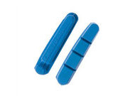 HALT Gooey Replacement Road bike brake pad inserts Blue pack 4