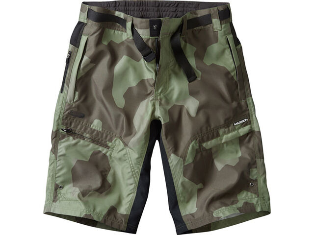 MADISON Trail men's shorts, olive camo click to zoom image