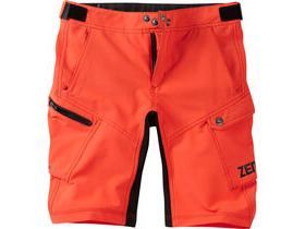 MADISON Zen youth shorts, chilli red