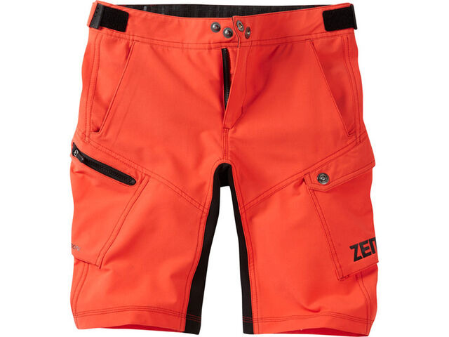 MADISON Zen youth shorts, chilli red click to zoom image