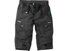 MADISON Trail women's 3/4 shorts, black