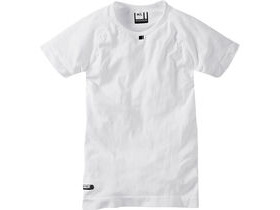 MADISON Isoler mesh men's short sleeve baselayer, white