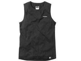 MADISON Isoler Merino men's sleeveless baselayer, black