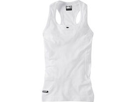 MADISON Isoler mesh women's sleeveless baselayer, white