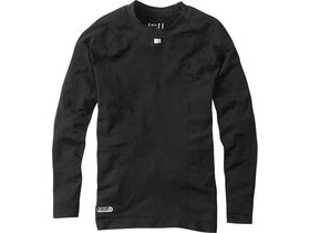 MADISON Isoler mesh men's long sleeve baselayer, black