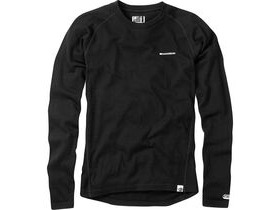 MADISON Isoler Merino men's long sleeve baselayer, black