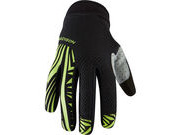 MADISON Flux men's gloves, black / krypton lime