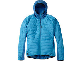 MADISON DTE men's hybrid jacket, caribbean blue