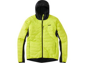 MADISON DTE men's hybrid jacket, limeaid