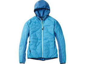 MADISON DTE women's hybrid jacket, caribbean blue