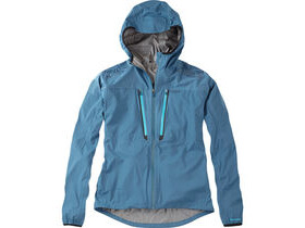 MADISON Flux super light men's waterproof softshell jacket, atlantic blue