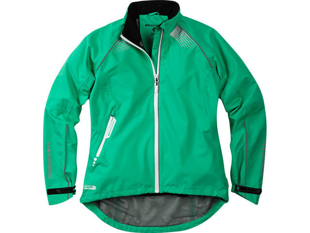 MADISON Prima women's waterproof jacket, peacock green size 12 click to zoom image