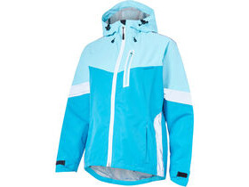 MADISON Prima women's waterproof jacket, radiant blue/caribbean blue