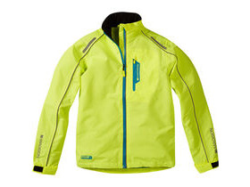 MADISON Protec youth waterproof jacket, hi-viz yellow