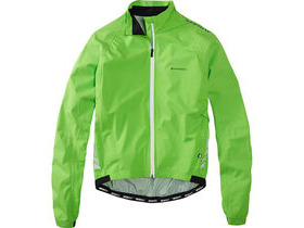 MADISON Sportive Hi-Viz men's waterproof jacket, flash green reflective
