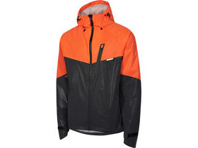MADISON Stellar Reflective men's waterproof jacket, black/red