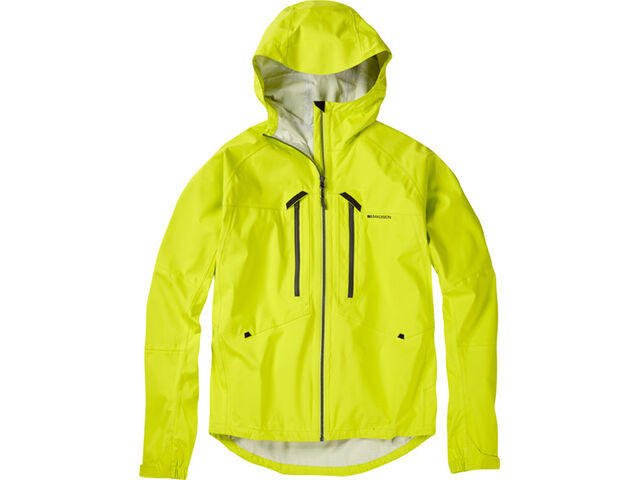 MADISON Zenith men's waterproof jacket, krypton lime click to zoom image