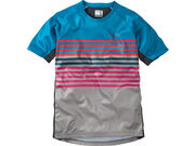 MADISON Zen youth short sleeve jersey, china blue / cloud grey