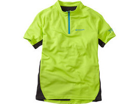MADISON Trail youth short sleeved jersey, krypton lime
