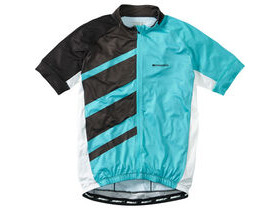 MADISON Sportive Race men's short sleeve jersey, blue curaco / black