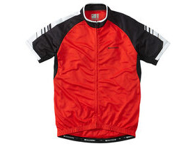 MADISON Peloton men's short sleeve jersey, flame red