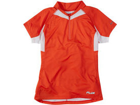 MADISON Flux women's short sleeved jersey, chilli red