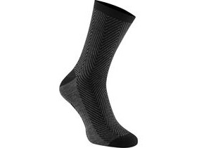 MADISON Assynt merino long sock, black herringbone