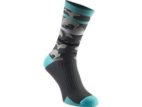 MADISON RoadRace Premio extra long sock, blue curaco limited