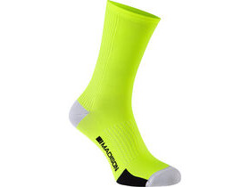 MADISON RoadRace Premio extra long sock, hi-viz yellow
