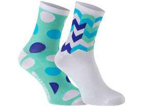 MADISON Sportive women's mid sock twin pack, blue combo