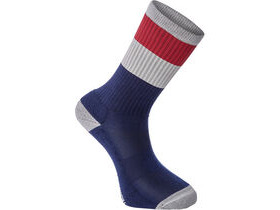 MADISON Alpine MTB sock, cloud grey/classy burgundy