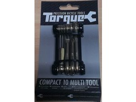 TORQUE CYCLE TOOLS Compact 10 Function Folding Multi Tool