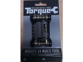 TORQUE CYCLE TOOLS Mighty 14 Function Folding Multi Tool